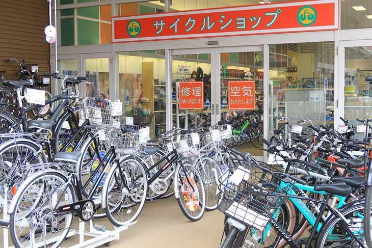 自転車売場