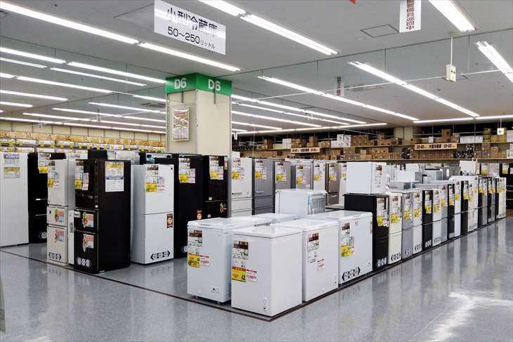 冷蔵庫売場