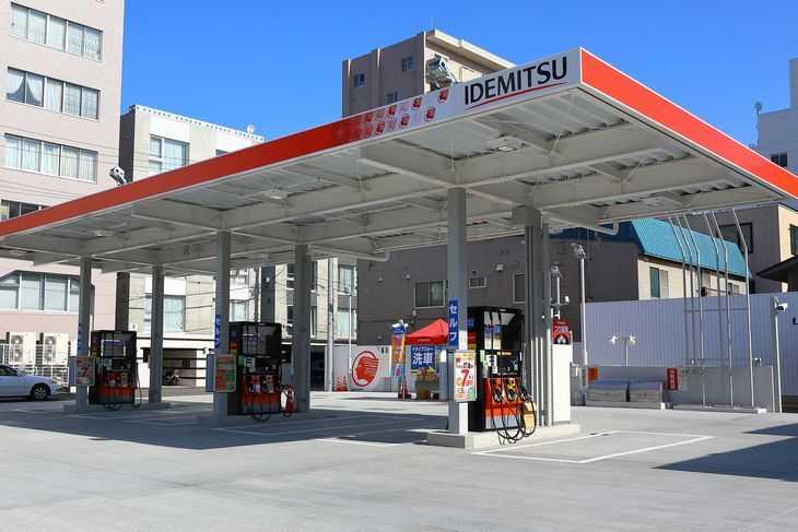 出光のガソリンスタンド